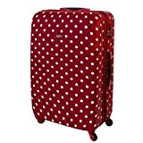 XXL Hardshell Suitcase Travel Case TSA Lock Polycarbonate 120 Litre Red 813/818