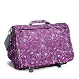 J World New York Thomas Messenger Bag, Love Purple, One Size