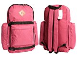 RED WINE Large Mens Boys Work Backpack College Rucksack Gym Sports School Overnight Bag