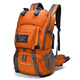Mountaintop 40L Hiking Daypack/Camping Backpack/Travel Daypack/Casual Backpack with Rain Cover for Outdoor Climbing School