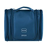 P.KU.VDSL® Outdoor Living Portable Commercial Trip Bag Large Capacity Storage Toiletry Bag Cosmetic Bags (Deep Blue)