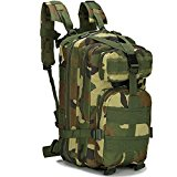 Candora™ 30L Outdoor Hiking Backpack Camping Bag Army Military Tactical Trekking Rucksack Camo