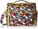 Ju-Ju-Be Hello Kitty Collection B.F.F Convertible Nappy Changing Bag - Rucksack & Messenger/ Tote, Tick Tock