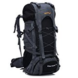 YAAGLE Unisex Nylon Oxford 45L+5L Outdoor Hiking Mountain Climbing Camping Backpack Explorer Sports Cycling Biking Rucksack Travel Bag Blue Black Red Orange