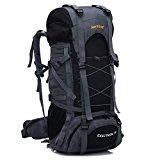 YAAGLE Unisex Nylon Oxford 45L+5L Outdoor Hiking Mountain Climbing Camping Backpack Explorer Sports Cycling Biking Rucksack Travel Bag Blue Black Red Orange