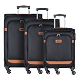 Samsonite NCS Caphir Spinner Suitcase 4 wheels 3pcs.